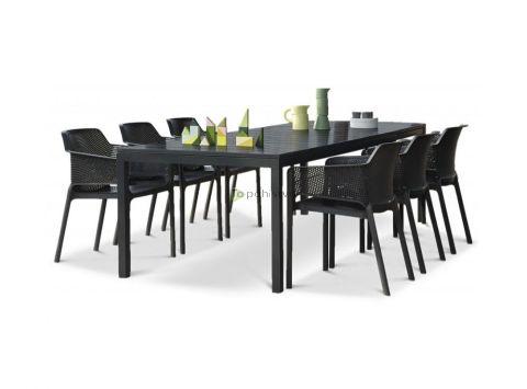 Vrtna garnitura RIO 140 + 6x stol NET