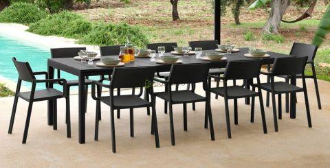 Vrtna garnitura RIO 210 + 8x stol TRILL